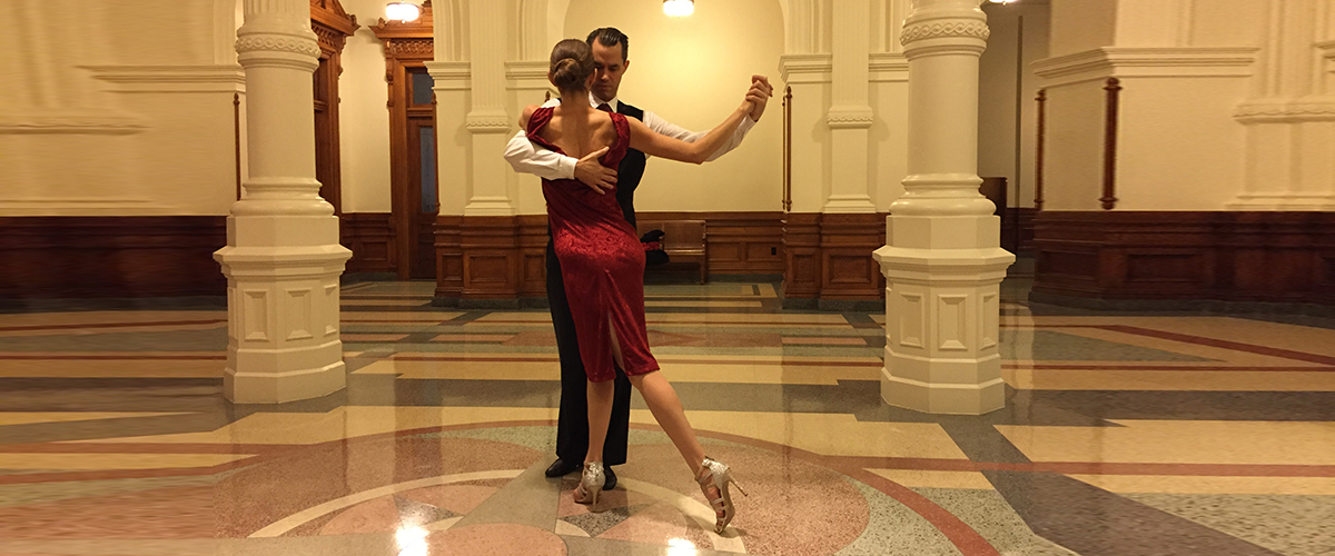 Argentine Tango with Stephen Shortnacy y Paola Aguillon