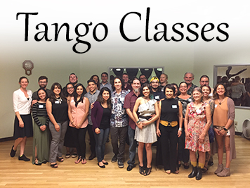 Join us for tango class!